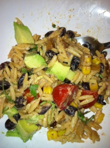 spicy buttermilk orzo